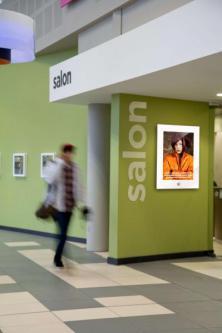 salon signage smartposter