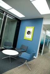 poster office interior signage smart touch points