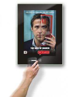 touch point poster smart nfc