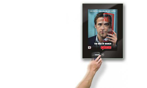 nfc tag touch point smart poster